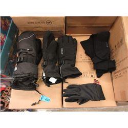 Bundles of New Socks & 3 Pairs of Gloves