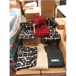 6 New Sweaters 7 Shirts - Assorted
