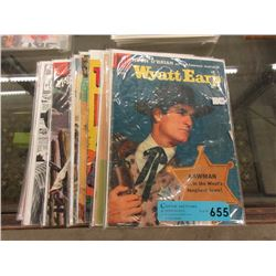 14 Bagged & Carded Comics