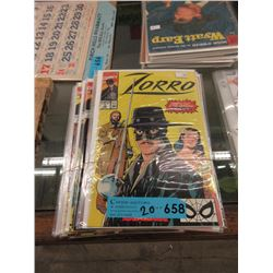 20 Assorted Bagged & Carded Comics