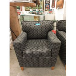 Contemporary Fabric Arm Chair