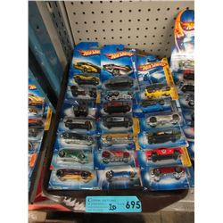 20 New Hot Wheels Vehicles - Sealed Packages