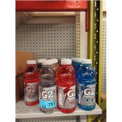 22 Bottles of Assorted Gatorade G2