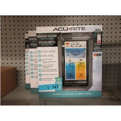 3 New Acu Rite Weather Stations