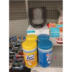 Ultrasonic Diffuser & 4 Containers of Lysol Wipes