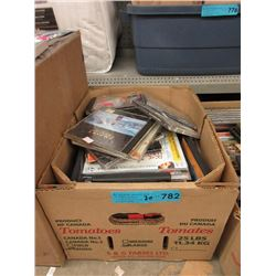 30 Assorted DVDs & Music CDs