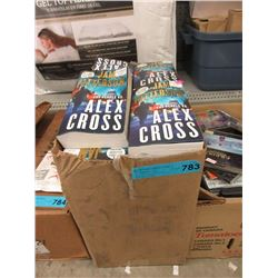 Case of New James Patterson Paperback Books