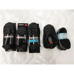 5 New Pairs of Slippers