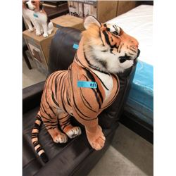 New 3 Foot Long Plush Tiger Toy