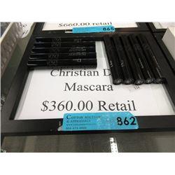 10 New Christian Dior Cosmetics - Retail $360
