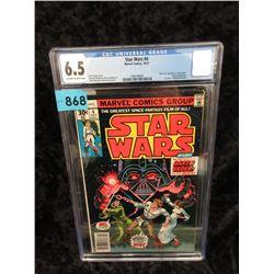 "Graded 1977 ""Star Wars #4"" Marvel Comic"