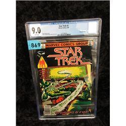"""Graded 1980 """"Star Trek #2"""" Marvel Comic"""