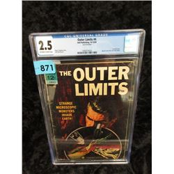 """Graded """"The Outer Limits #4"""" 12¢ Dell Comic"""