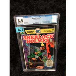 "Graded 1975 ""Sherlock Holmes #1"" DC Comic"