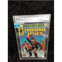 "Graded 1983 ""Indiana Jones #1"" Marvel Comic"