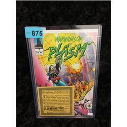 "Autographed 1993 ""Warriors of Plasm #4"""