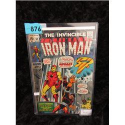 "1971 ""The Invincible Iron Man #35"" Marvel Comic"