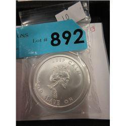"""1 Oz. .999 Fine Silver """"Silver Shield"""" Round"""