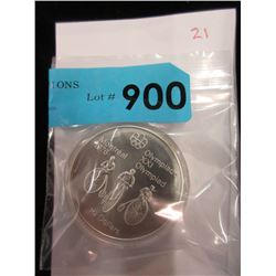 1976 Montreal Olympics Sterling Silver $10 Coin