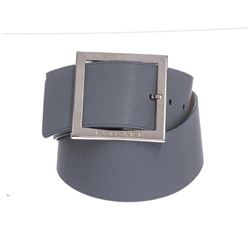 Bvlgari Light Blue Oversized Buckle Belt 36