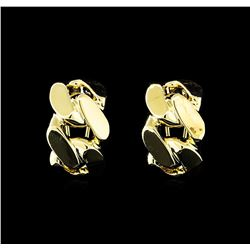 14x22mm Chain Hoop Earrings - Gold Plated