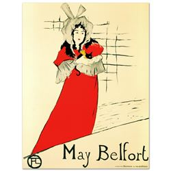 May Belfort by Henri de Toulouse-Lautrec (1864-1901)