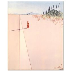 Departure for the Great Journey by Dali (1904-1989)