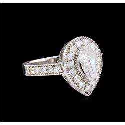 1.88 ctw Diamond Ring - 14KT White Gold