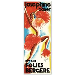 Folies Bergere Josephine Baker by RE Society
