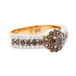 1.32 ctw Diamond Ring - 14KT Rose Gold