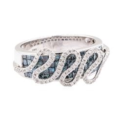 1.53 ctw Diamond Ring - 14KT White Gold