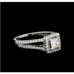 1.41 ctw Diamond Ring - 14KT White Gold
