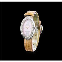 Corum Stainless Steel 1.00 ctw Diamond Ladies Watch