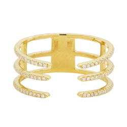 0.3 ctw Diamond Ring - 14KT Yellow Gold