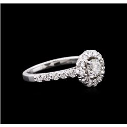 1.28 ctw Diamond Ring - 14KT White Gold