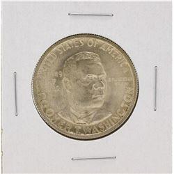 1949-D Booker T Washington Centennial Commemorative Half Dollar Coin