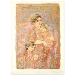 Mona and Family by Hibel (1917-2014)