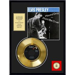 ELVIS PRESLEY ''Hound Dog'' Gold Record