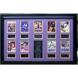 Lakers Legends - Plate Signatures