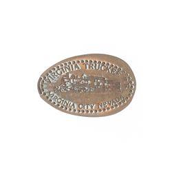 Virginia Truckee - Virginia City Nevada Elongated Pressed Penny
