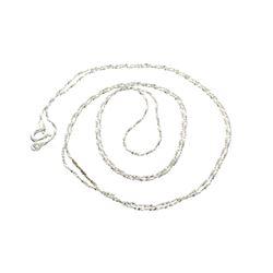 Fine Jewelry Designer Sebastian, 30'' Italian Sterling Silver Chain