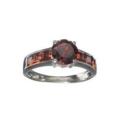APP: 0.3k Fine Jewelry 2.90CT Almandite Garnet And Sterling Silver Ring