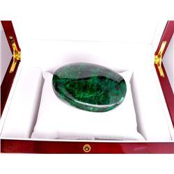 APP: 5.2k 1,042.00CT Oval Cut Cabochon Green Beryl Emerald Gemstone