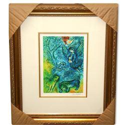 Chagall (After) 'Magic Flute' Museum Framed Giclee-Ltd Edn