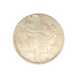Rare 1925 U.S. Peace Type Silver Dollar