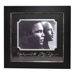 Rare Plate Signed Ali And Jordan Photo Great Memorabilia