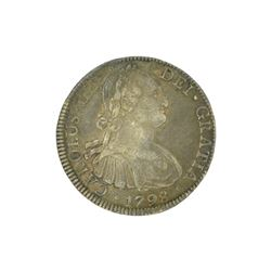 Extremely Rare Early Date 1798 Portrait Reales Very Rare - Great Investment