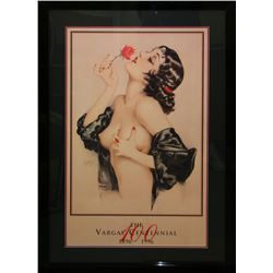 Alberto Vargas (After) Exquisitely Museum Framed & Matted Print