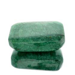 APP: 9.4k 2,327.00CT Rectangle Cut Green Beryl Emerald Gemstone