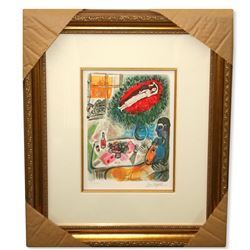 Chagall (After) 'Reverie' Museum Framed Giclee-Limited Edition